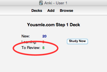 Add Anki cards to your reviews